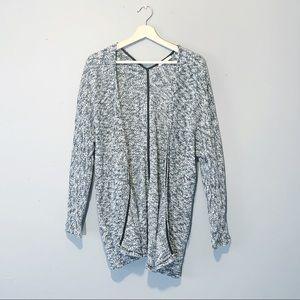 American Eagle | Cardigan Open Front Knit Gray M
